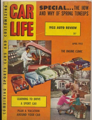 April 1955 Car Life - Sports Cars & Customizing